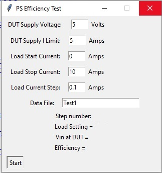 siglent multiple dmm power supply efficiency programming example GUI